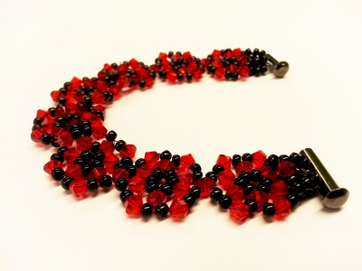 beads for mala ethniq picture three red making of layered jewelry