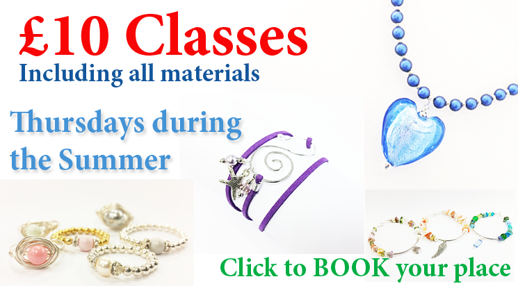 £10 beginner jewellery making classes