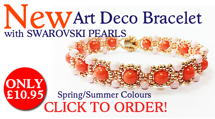 Art Deco Bracelet Kit with SWAROVSKI ELEMENTS