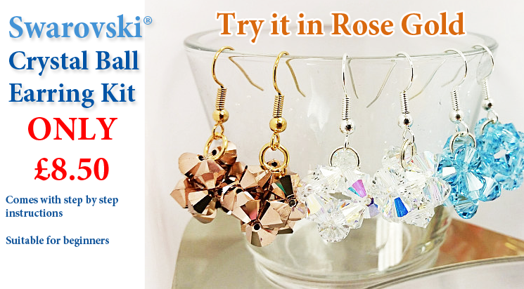 Crystal Ball Earring Kit
