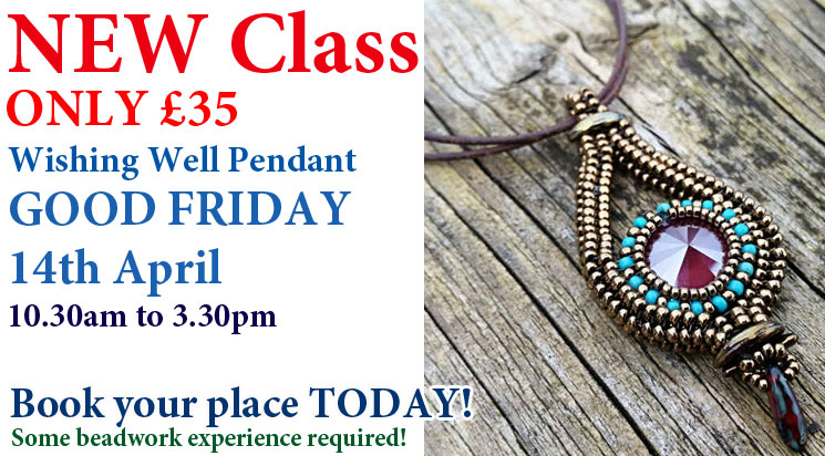 Good Friday Beadwork Pendant Class
