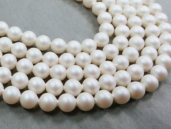 8mm SWAROVSKI ELEMENTS Pearlescent White Crystal Pearl ...
