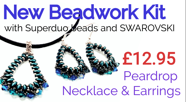 NEW PearDrop Beadwork Kit £12.95